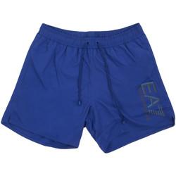 textil Hombre Bañadores Ea7 Emporio Armani 902000 0P738 Azul
