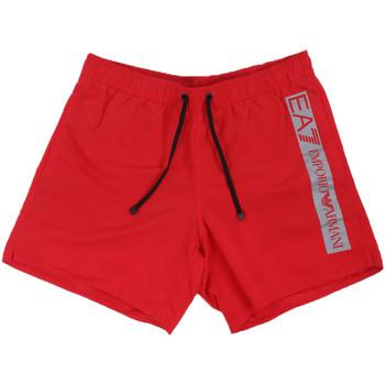 textil Hombre Bañadores Ea7 Emporio Armani 902000 0P732 Rojo