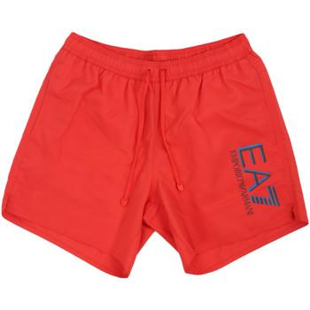 textil Hombre Bañadores Ea7 Emporio Armani 902000 0P738 Rojo