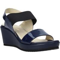 Zapatos Mujer Sandalias Esther Collezioni ZB112 Azul