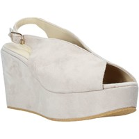 Zapatos Mujer Sandalias Esther Collezioni ZC 107 Beige