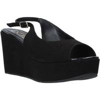 Zapatos Mujer Sandalias Esther Collezioni ZC 042 Negro