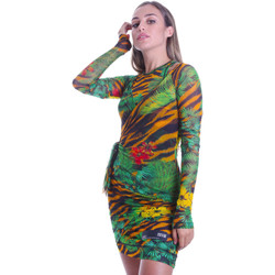 textil Mujer Vestidos cortos Versace D2HVB495S0782983 Negro