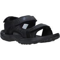Zapatos Hombre Sandalias de deporte Lotto L52291 Negro