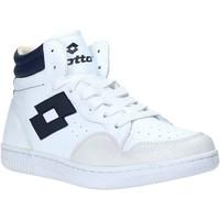 Zapatos Hombre Zapatillas altas Lotto L56883 Blanco