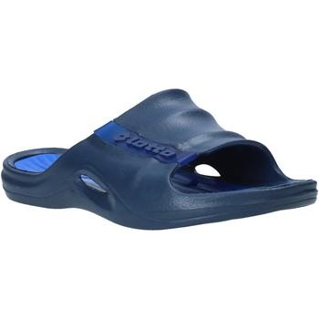 Zapatos Hombre Chanclas Lotto L49342 Azul