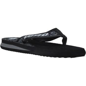 Zapatos Hombre Chanclas Lotto L52287 Negro