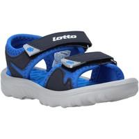 Zapatos Niños Sandalias Lotto L55098 Azul