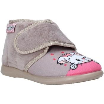 Zapatos Niños Pantuflas Grunland PA0623 Beige