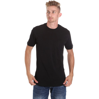 textil Hombre Camisetas manga corta Les Copains 9U9010 Negro