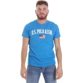 textil Hombre Camisetas manga corta U.S Polo Assn. 57117 49351 Azul
