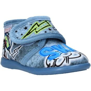 Zapatos Niños Pantuflas Grunland PA0628 Azul