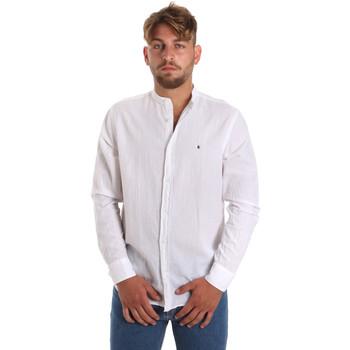 textil Hombre Camisas manga larga Les Copains 9U2722 Blanco