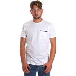textil Hombre Camisetas manga corta Antony Morato MMKS01798 FA100212 Blanco