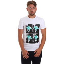 textil Hombre Camisetas manga corta Antony Morato MMKS01743 FA120001 Blanco