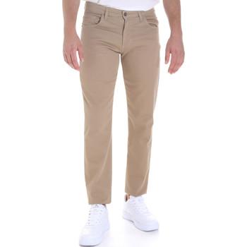 textil Hombre Pantalones con 5 bolsillos Les Copains 9U3022 Beige