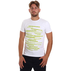 textil Hombre Camisetas manga corta Antony Morato MMKS01749 FA120001 Blanco