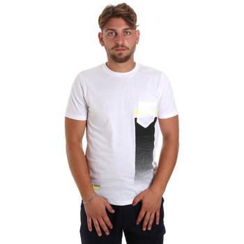 textil Hombre Camisetas manga corta Antony Morato MMKS01794 FA100189 Blanco