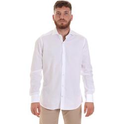 textil Hombre Camisas manga larga Les Copains 000.006 P3196SL Blanco