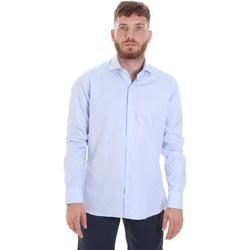 textil Hombre Camisas manga larga Les Copains 20P.887 P3196SL Azul