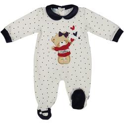 textil Niños Monos / Petos Melby 20N0681 Blanco
