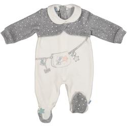 textil Niños Monos / Petos Melby 20N0781 Blanco