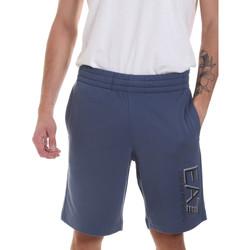 textil Hombre Shorts / Bermudas Ea7 Emporio Armani 3HPS73 PJ05Z Azul