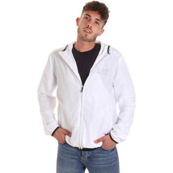 textil Hombre Cortaviento Ea7 Emporio Armani 8NPB04 PNN7Z Blanco