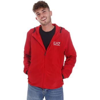 textil Hombre Chaquetas de deporte Ea7 Emporio Armani 8NPB04 PNN7Z Rojo