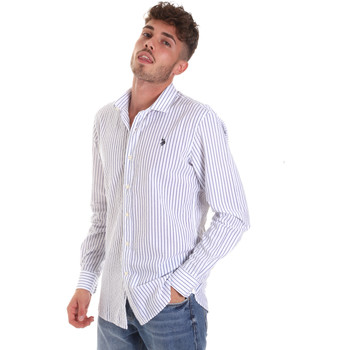 textil Hombre Camisas manga larga U.S Polo Assn. 58829 52741 Azul