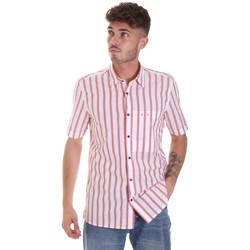 textil Hombre Camisas manga corta Antony Morato MMSS00154 FA420084 Rojo