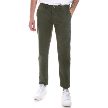 textil Hombre Pantalones chinos Gaudi 821FU25013 Verde