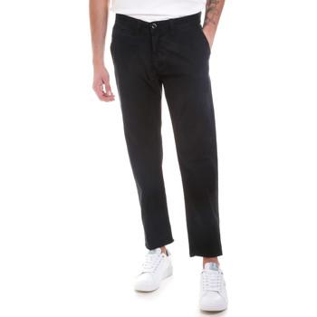 textil Hombre Pantalones chinos Gaudi 821BU25007 Negro