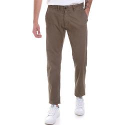 textil Hombre Pantalones chinos Gaudi 821BU25007 Verde