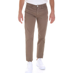 textil Hombre Pantalones chinos Sseinse PSE555SS Marrón
