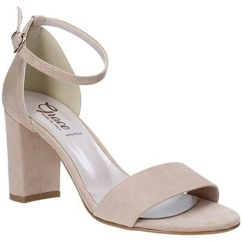 Zapatos Mujer Sandalias Grace Shoes 492001 Beige