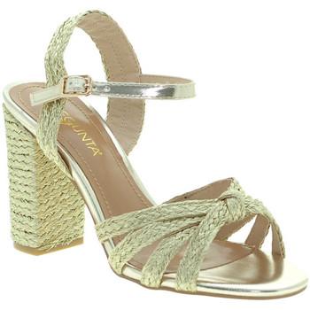 Zapatos Mujer Sandalias Pregunta ICD1719-9 Oro