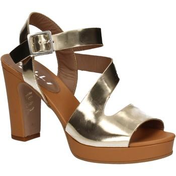 Zapatos Mujer Sandalias Mally 5180 Oro