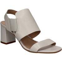 Zapatos Mujer Sandalias Mally 5228 Blanco