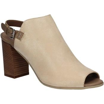 Zapatos Mujer Sandalias Mally 5738 Beige