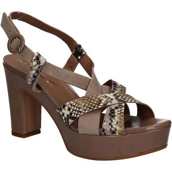 Zapatos Mujer Sandalias Mally 5832 Marrón