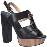 Zapatos Mujer Sandalias Byblos Blu 682358 Negro