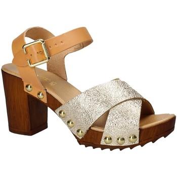 Zapatos Mujer Sandalias Keys 5864 Amarillo