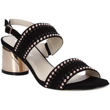 Zapatos Mujer Sandalias Melluso S553M Negro