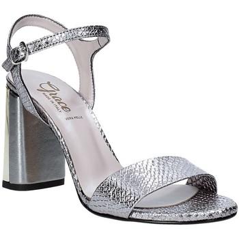 Zapatos Mujer Sandalias Grace Shoes 2384L007 Gris