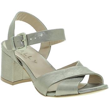 Zapatos Mujer Sandalias Mally 6149 Beige