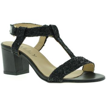 Zapatos Mujer Sandalias Mally 3895 Negro