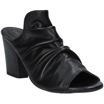 Zapatos Mujer Zuecos (Mules) Pregunta PF3286 Negro
