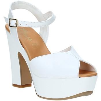 Zapatos Mujer Sandalias Grace Shoes FLY Blanco