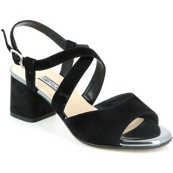 Zapatos Mujer Sandalias Grunland SA1426 Negro